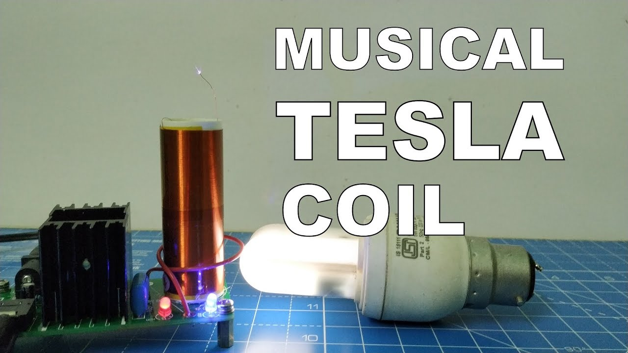 DC 15-24V 15W Mini Music Tesla Coil Plasma Speaker Plasma