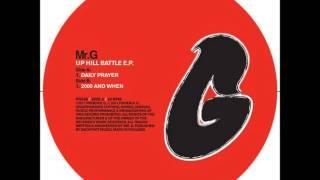 Mr. G - Daily Prayer (Original Mix)