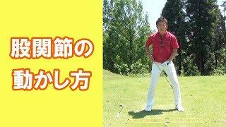 【長岡プロのゴルフレッスン】股関節の動かし方