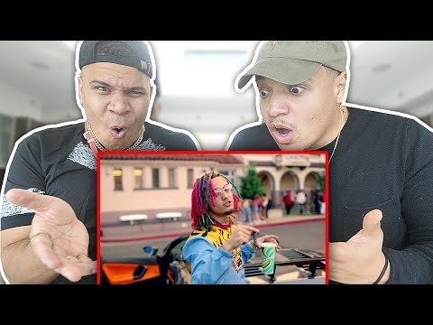 "Thumbnail: REACTING TO Lil Pump - ""Gucci Gang"" (Official Music Video)"