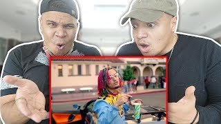 "REACTING TO Lil Pump - ""Gucci Gang"" (Official Music Video)"