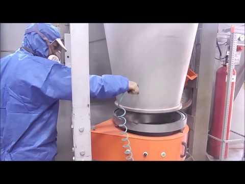 Electron Powder Booth Cleaning | Electron Toz Boya Kabini Temizlik Uygulaması