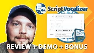 Script Vocalizer Review | Full Demo With Bonus