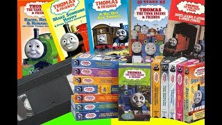 My Thomas Friends Vhs Collection
