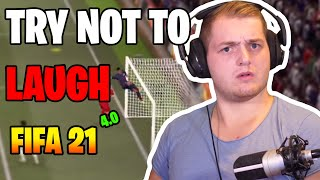Best of Trymacs | FIFA 21 - 4.0 | Try not to LAUGH 😂=🚫