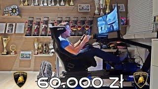Jeżdżę Lamborghini na torze w symulatorze za ponad 60.000zł !