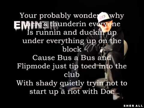 Eminem ft. Busta Rhymes - I'll hurt you Lyrics