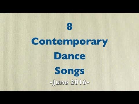 Contemporary Dance Songs - June 2016