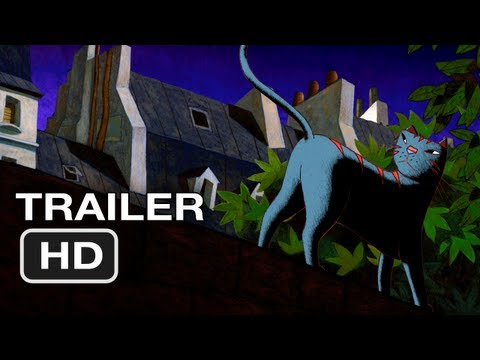 A Cat In Paris Movie Official Trailer #1 (2012) HD Movie
