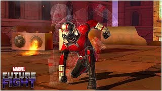 TINY HERO 👉 GIGANTIC CHANGES (Ant-Man Uniform & Build Guide) - Marvel Future Fight