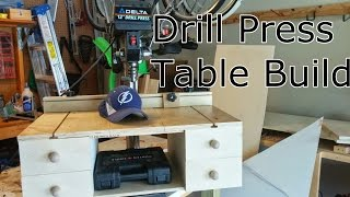 Drill Press Table Build