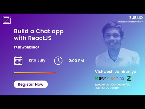 Building a Chat App with ReactJS