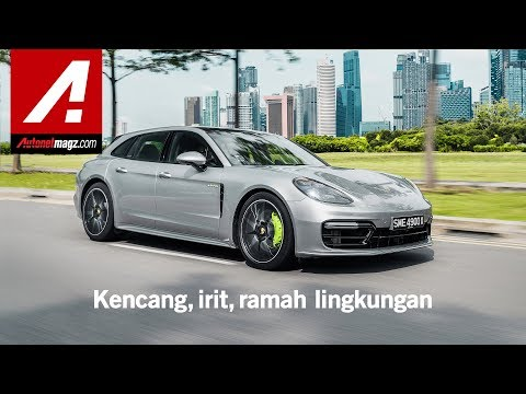 Porsche Panamera 4 E-Hybrid Sport Turismo Review & Test Drive In Singapore
