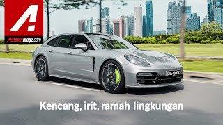 Porsche Panamera 4 E-Hybrid Sport Turismo Review & Test Drive in Singapore