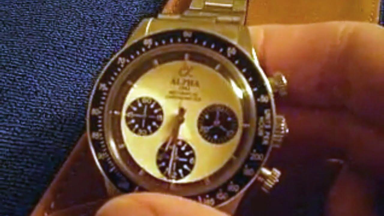 Alpha Daytona Chronograph Watch - Review