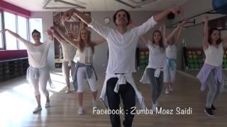 Bailando Dos Corazones - Chayanne | Bachata Zumba Fitness choreography by Moez Saidi