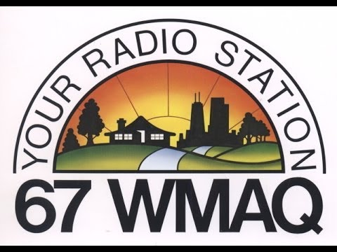 The last day of broadcasting at WMAQ 670 am (7-31-00)