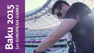 Gareth Emery plays the Baku 2015 Closing Ceremony