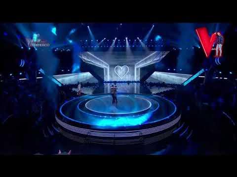 "Maluma e Irlanda Valenzuela ""Corazón"" || Final La Voz México 2017"