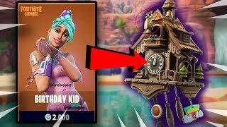 FORTNITE - NEW - CLOCKWORKS SECRET, NEW BIRTHDAY SKIN, WEAPON ATTACHMENTS! Fortnite Bataille Royale