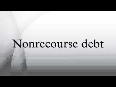 Nonrecourse debt