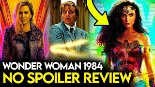 Wonder Woman 1984 REVIEW! (No Spoilers)