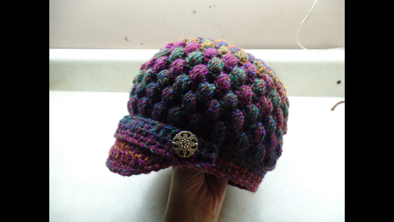 Crochet how to crochet newsboy puff stitch hat tutorial 254 crochet how to crochet newsboy puff stitch hat tutorial 254 learn crochet youtube bankloansurffo Gallery
