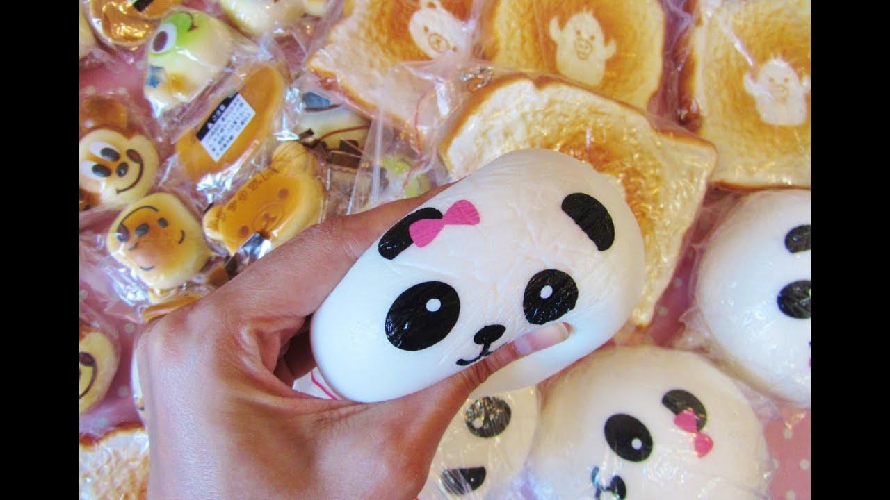 Jumbo Disney Squishy : Novita: Jumbo panda Squishy, jumbo toast, disney ecc. - YouTube