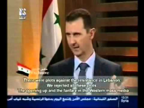 EXCLUSIVE: Full interview of Syrian president Dr. Bashar Al-Assad on Addounia TV 29.08.2012
