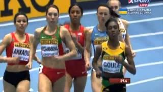 Чемпіонат світу в приміщенні 800 м 2 забіг (Наталія Лупу) 7.03.2014 WC 800 W Lupu
