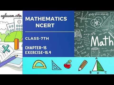 Class 7   Mathematics   Exercise 15.1   NCERT Solutions