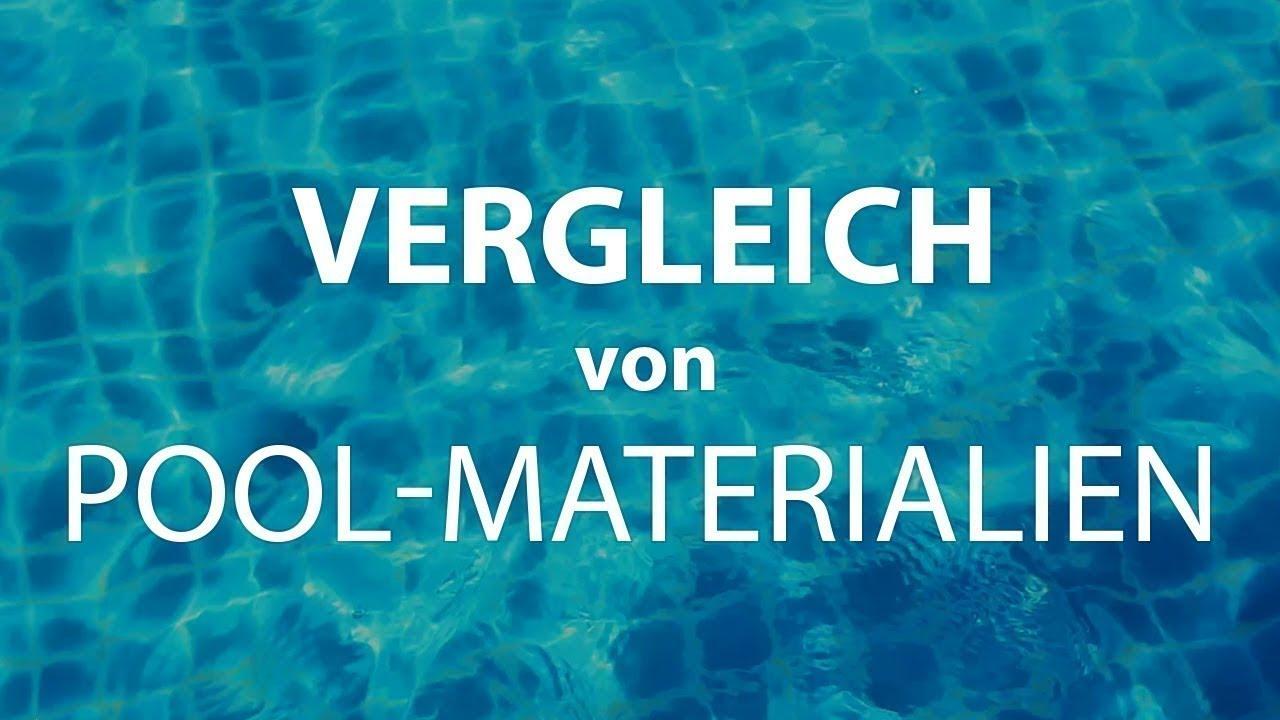 4b8e0cd91c0dac GFK-Pool, Folien-Pool oder Polypropylen-Pool PP? Vergleich von Materialien  und Typen