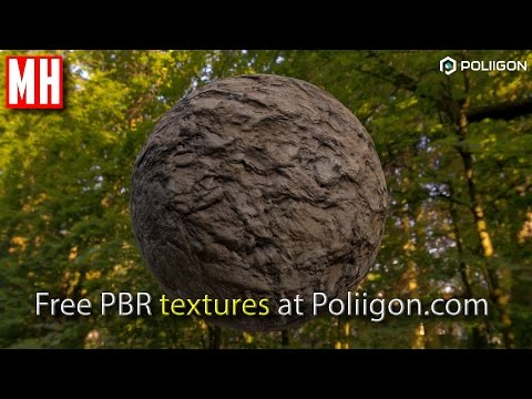 Free top quality PBR textures for use in Maya  3DSMax