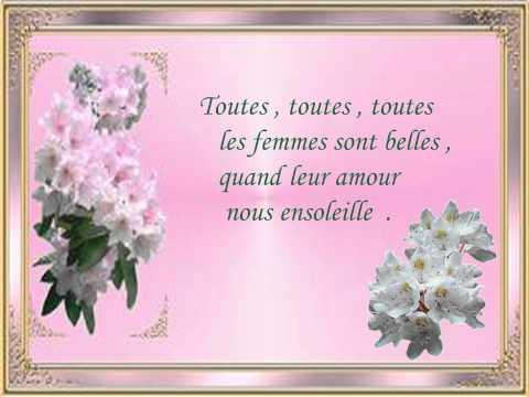 Toutes les Femmes sont belles - Franck Michaël -