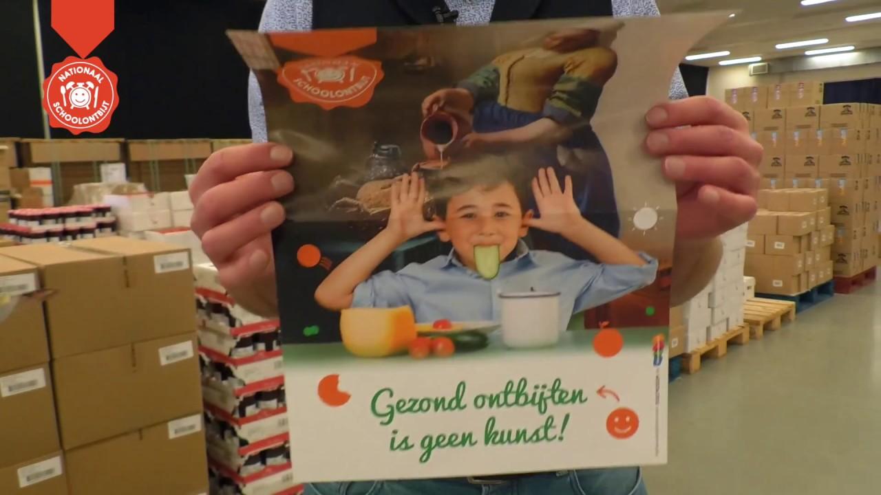 inpakken pakketten nationaal schoolontbijt 2017