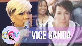Vice recalls first TV guesting