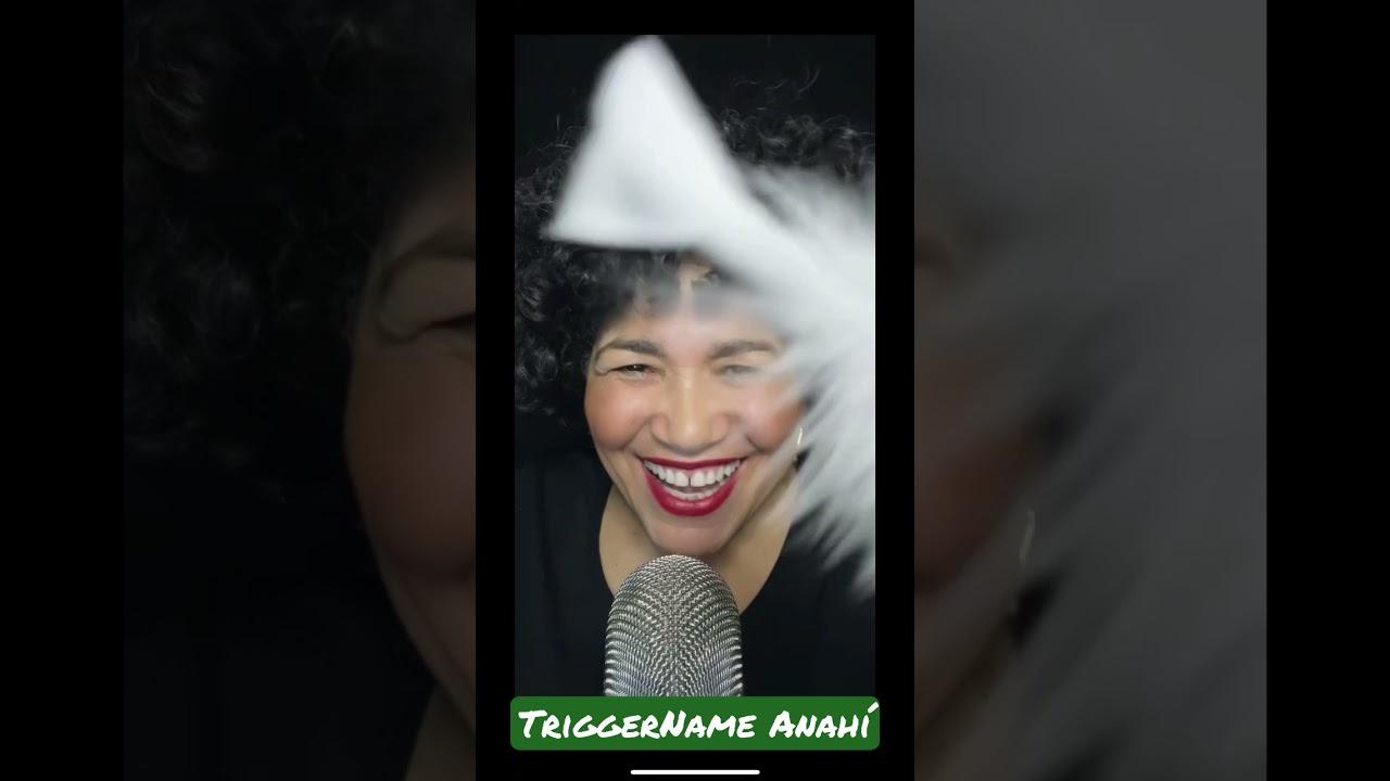 ASMR TriggerName Anahí - relaxing sounds, TINGLES? lly a lot