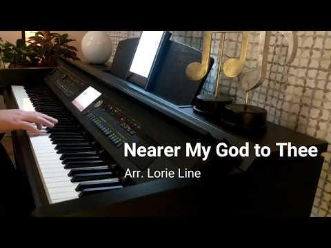 Nearer My God to Thee - Hymn Piano Solo Instrumental