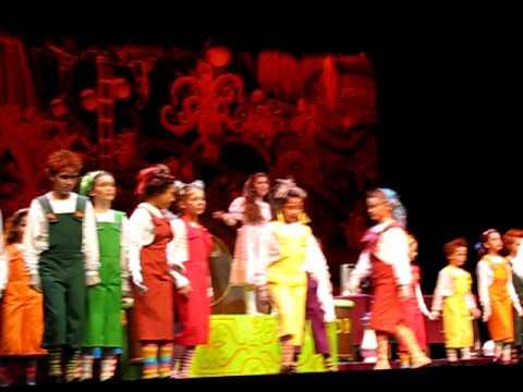 Fort Lauderdale Children Theatre, Willy Wonka Show