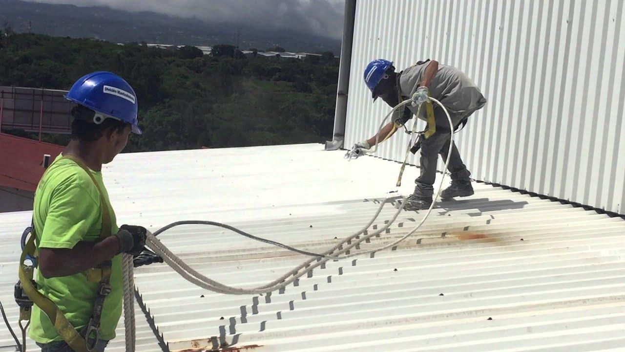 Pintado de techos y bodegas equipo airless para pintura youtube - Consejos para pintar techos ...