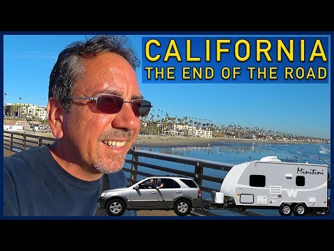 California, the End of the Road: Oceanside and the Palomar Observatory