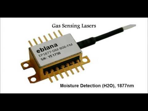 Laser Diodes for Gas Sensing, Aerospace, Atomic Clock, Metrology, Test & Me