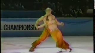 Torvill & Dean (GBR) - 1984 World Professional Championships, Ice Dancing, Technical Dance