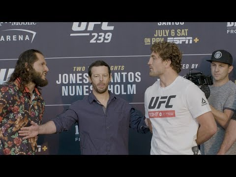 UFC 239: Media Day Faceoffs
