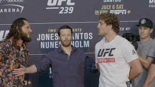 UFC 239: Media Day Faceoffs Video
