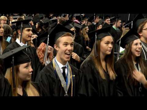 Plymouth High School 2016 Graduation (Part 1)