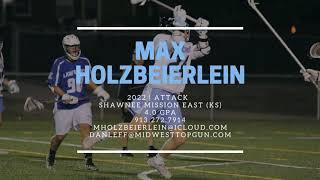 Max Holzbeierlein 2022 Attack Shawnee Mission East HS (KS)