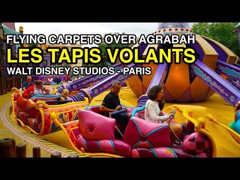 [4K] Les Tapis Volants - Flying Carpets Over Agrabah : Walt Disney Studios (Paris, France)