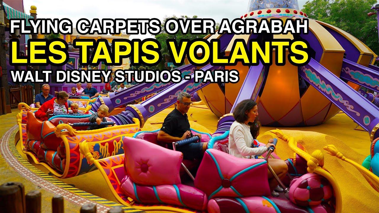 4k Les Tapis Volants Flying Carpets Over Agrabah Walt Disney