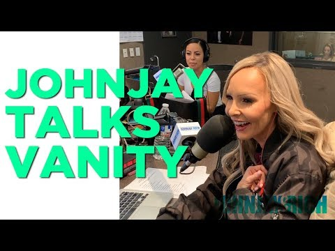 In-Studio Videos - Johnjay Talks About Vanity (LOL!)